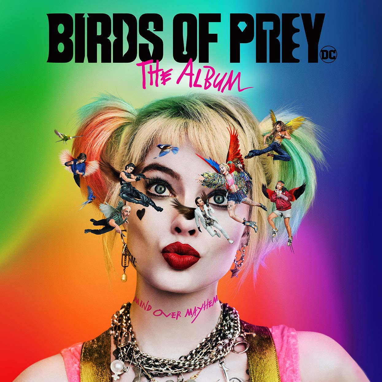 Birds of Prey The Album cover